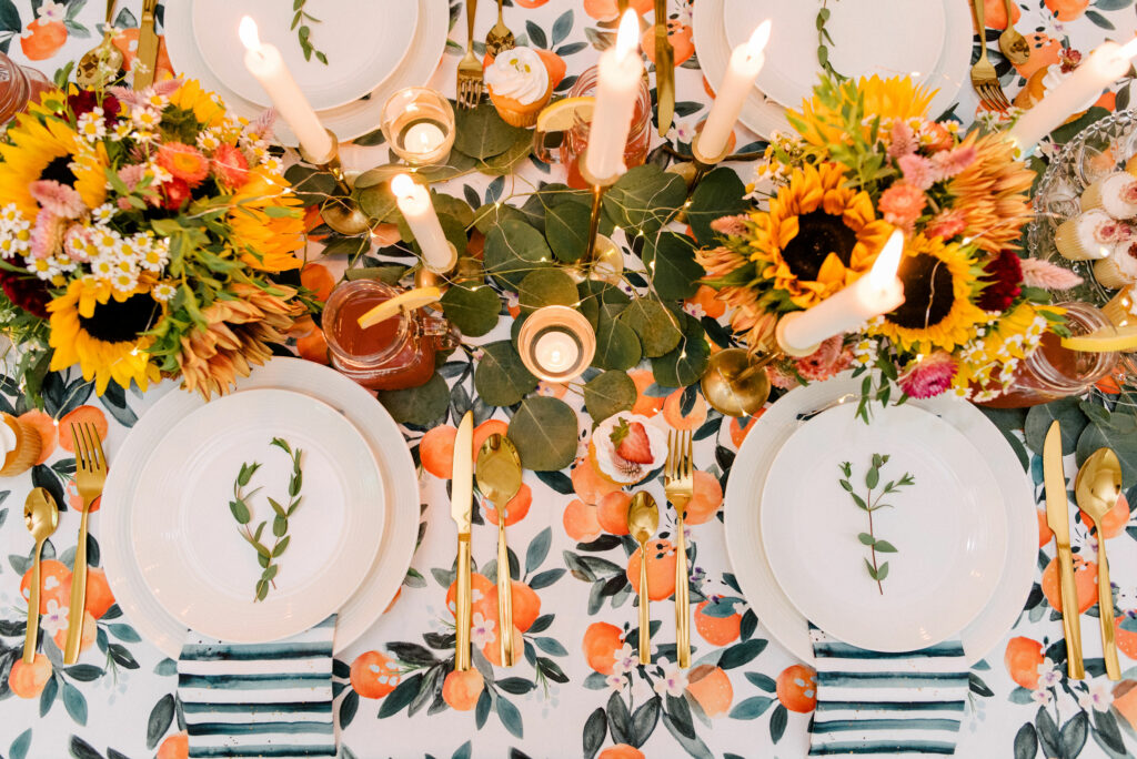 6 Ways to Style Your Table this Season | Spoonflower Blog