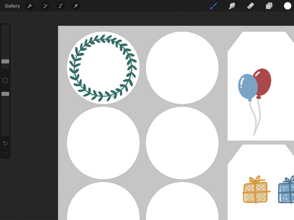 Add the icons to your gift tags | Spoonflower Blog