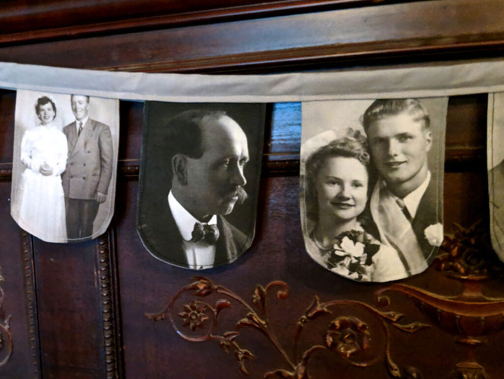 Display your Family Picture with This DIY Photo Garland | Spoonflower Blog