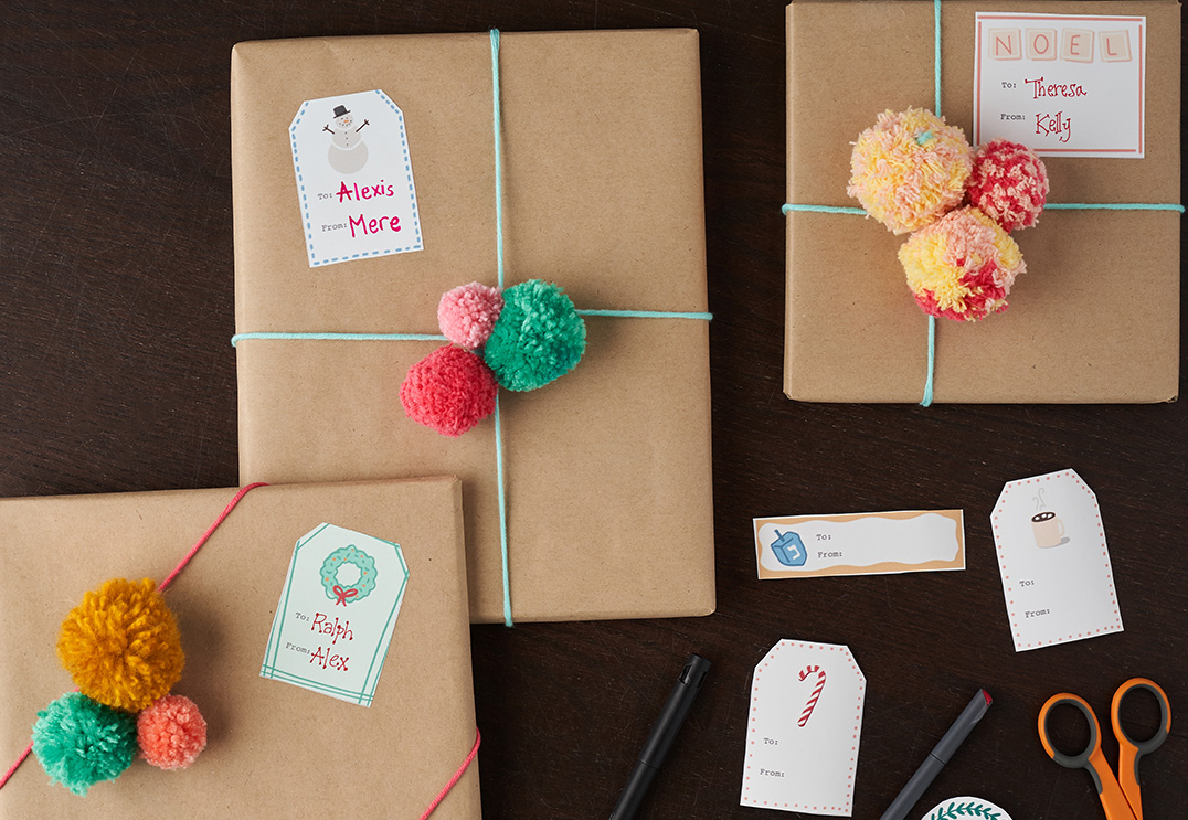 How to Design Gift Tags with Procreate and Spoonflower | Spoonflower Blog  | Spoonflower Blog