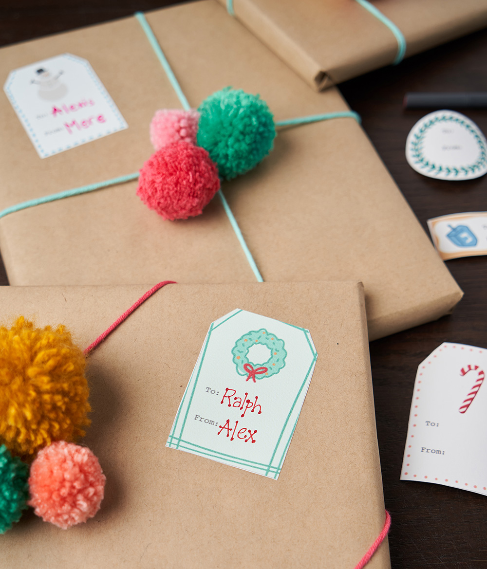 How to Design Gift Tags with Procreate and Spoonflower | Spoonflower Blog