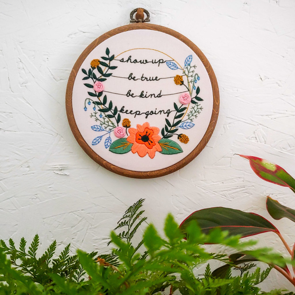 Embroidery project | Spoonflower Blog