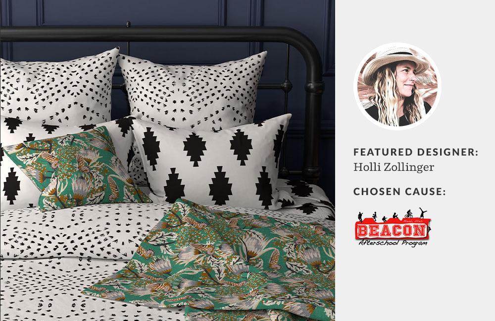 Spoonflower designer Holli Zollinger chose Moab Beacon Afterschool Program for Made for Good | Spoonflower Blog