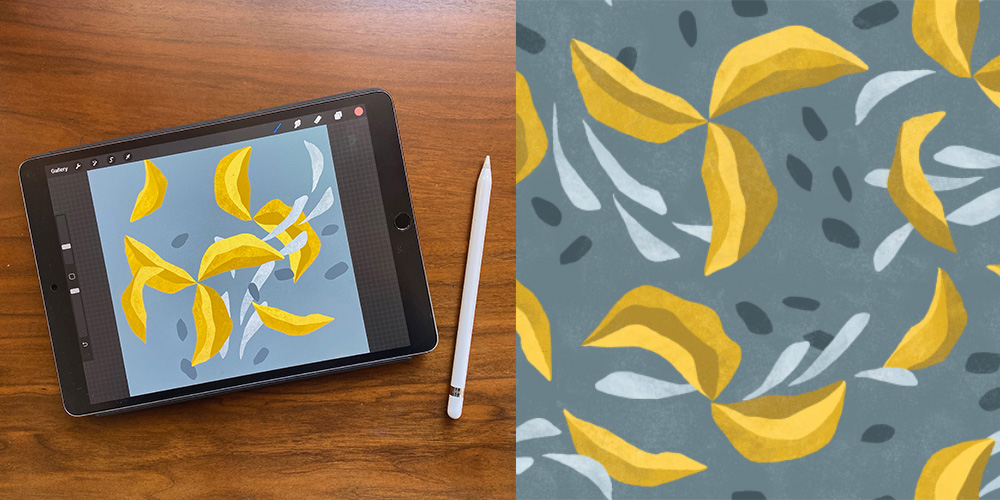 How to Design a Paper Cut-Out Effect in Procreate | Spoonflower Blog