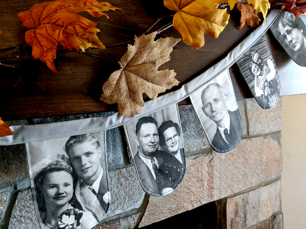Celebrate Your Family With This DIY Photo Garland | Spoonflower Blog