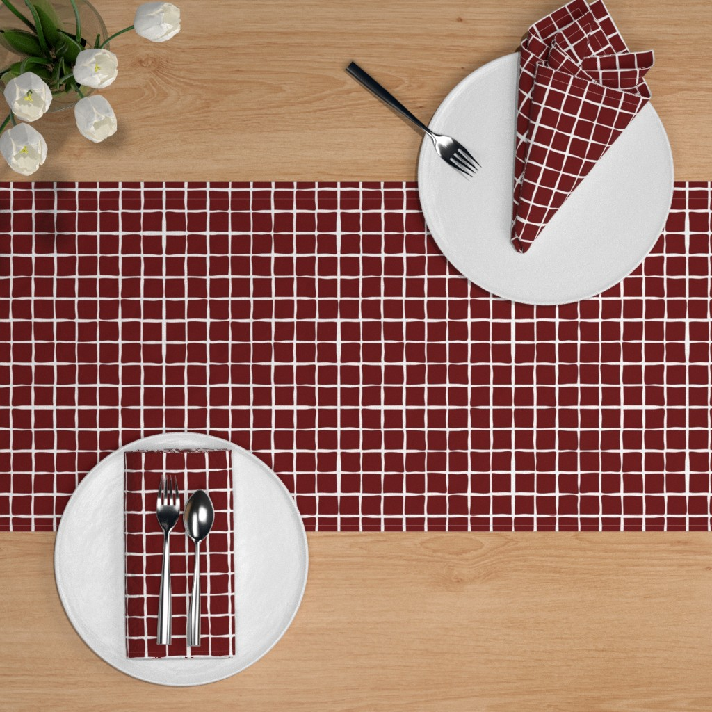 Game Day Table Setting | Spoonflower Blog