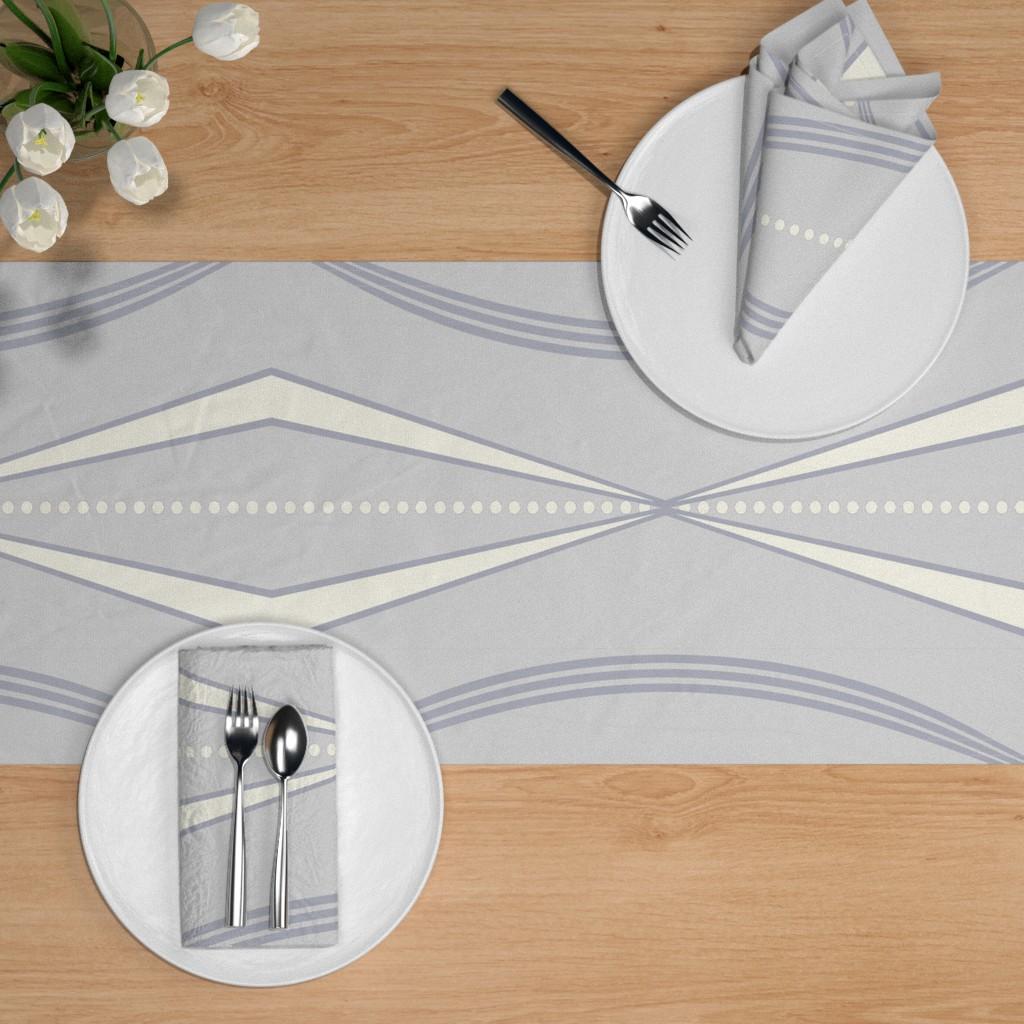 Hannukah Table Setting | Spoonflower Blog