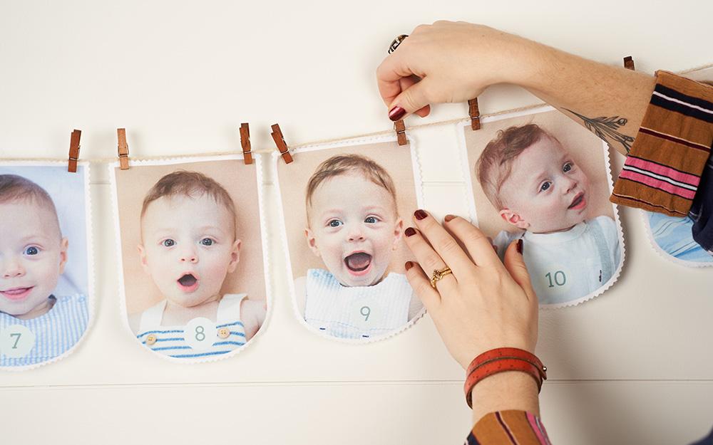 Girlande zum Kindergeburtstag selber machen