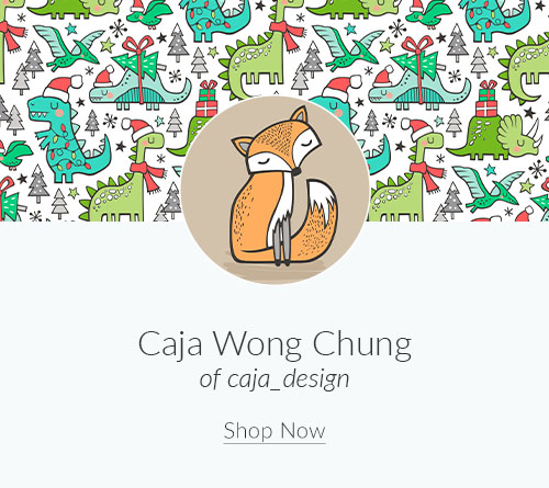 September Designer Spotlight: Meet Caja Wong Chung of caja_design | Spoonflower Blog