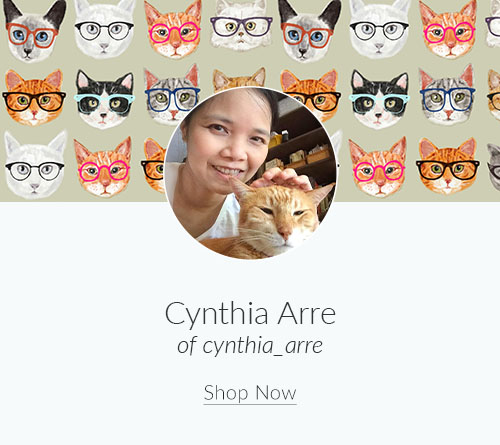 September Designer Spotlight: Meet Cynthia Arre of cynthia_arre | Spoonflower Blog