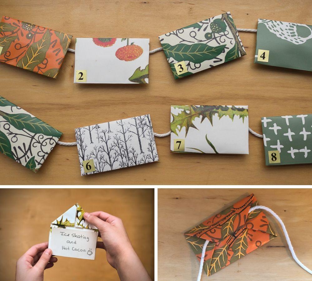DIY wallpaper swatch envelopes | Spoonflower Blog
