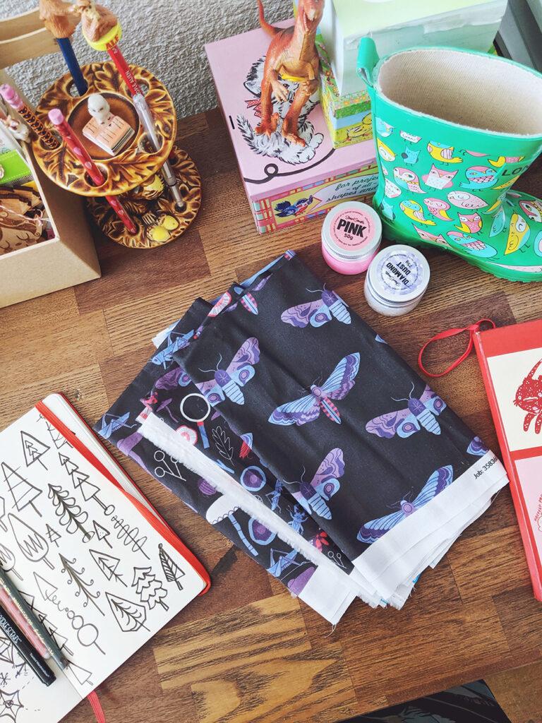 September Designer Spotlight: Meet Julia Green of juliagreenillustration | Spoonflower Blog