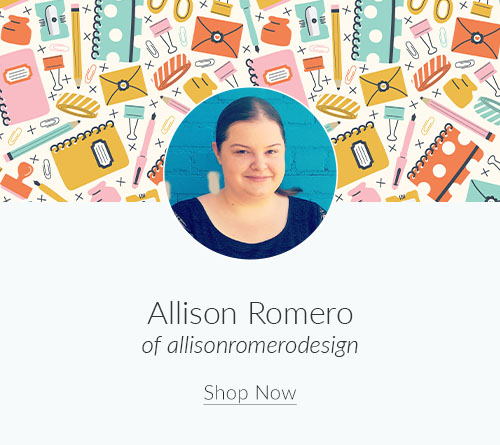 September Designer Spotlight: Meet Allison Romero of allisonromerodesign | Spoonflower Blog