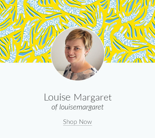 September Designer Spotlight: Meet Louise Margaret of louisemargaret | Spoonflower Blog