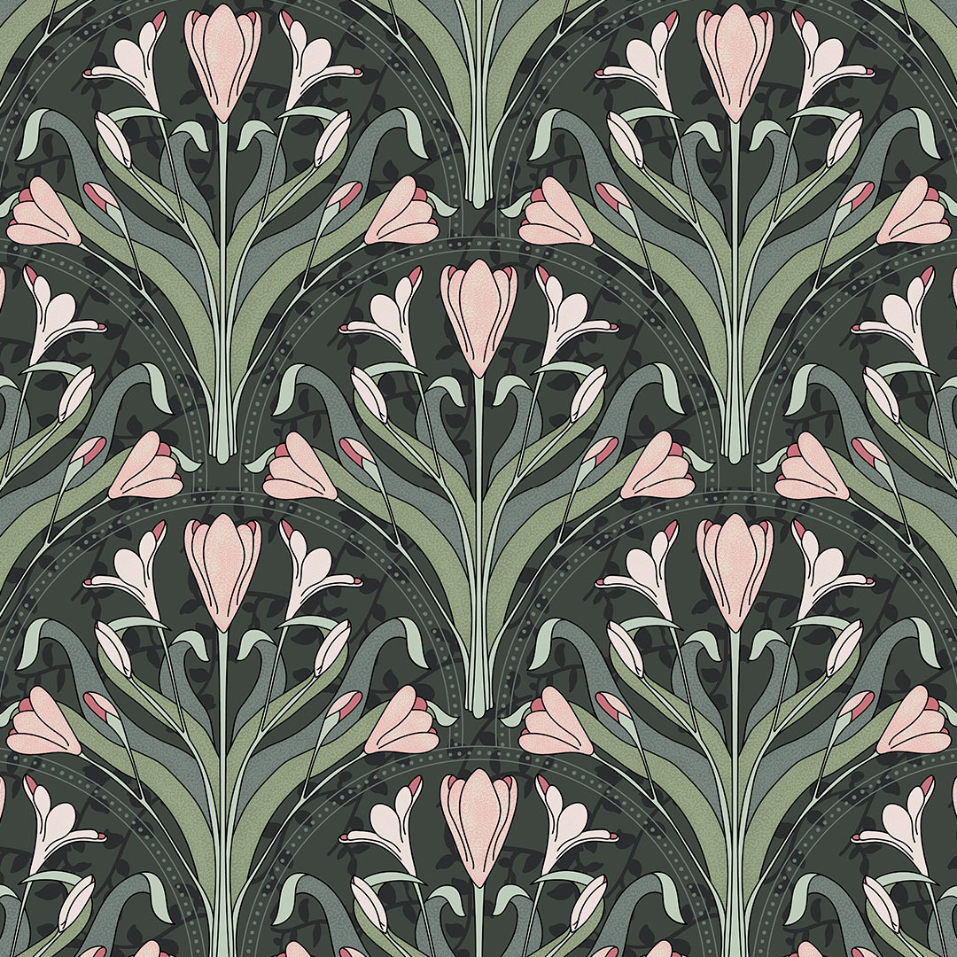 See Where You Ranked In The Art Nouveau Wallpaper Design Challenge