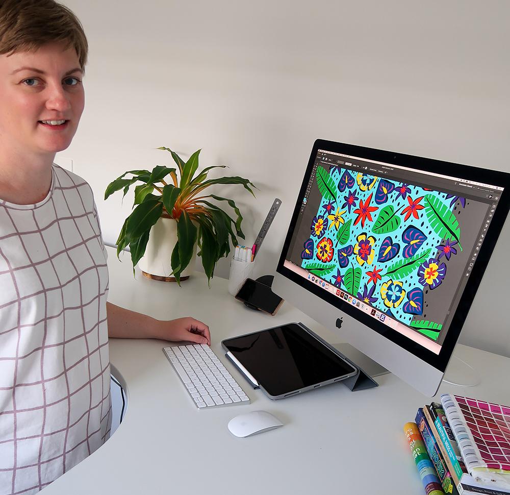 September Designer Spotlight: Meet Louise Margaret of louisemargaret | Spoonflower Blog