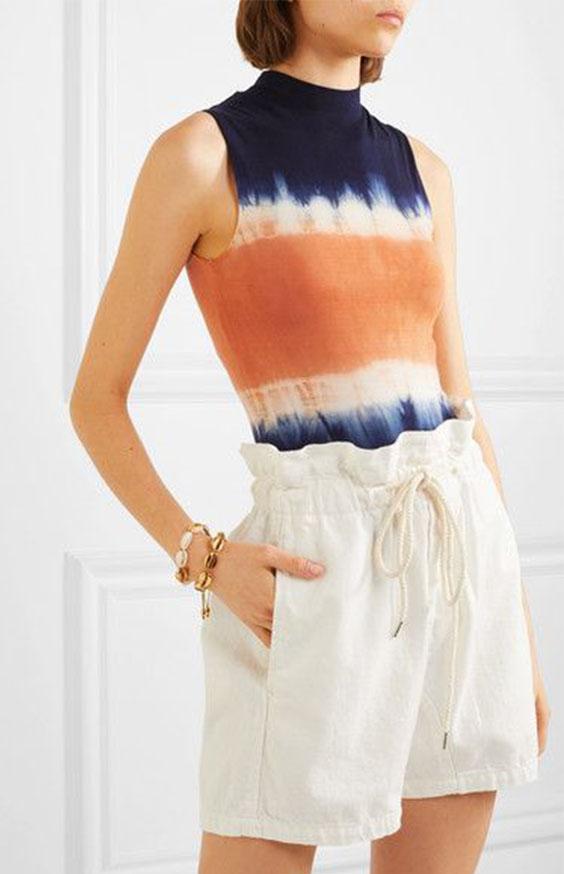 Ein Batik-Top ist ein eleganter Weg Batik in deine Garderope zu integrieren
