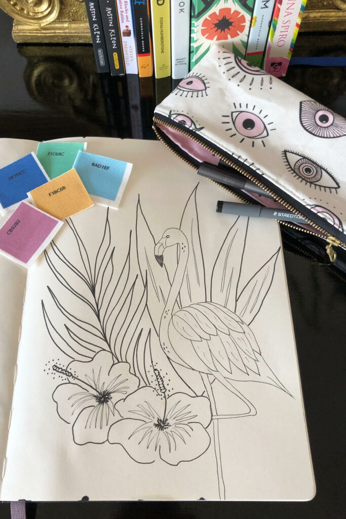 September Designer Spotlight: Meet Vivian Hasenclever of vivdesign | Spoonflower Blog