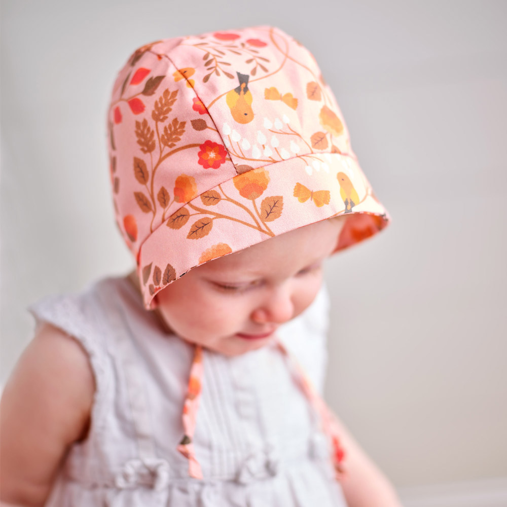 How to Make an Adorable Baby Bonnet | Spoonflower Blog