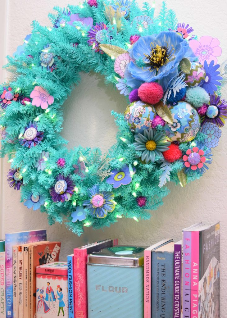 How to Make a Retro-Inspired Easter Wreath | Spoonflower Blog