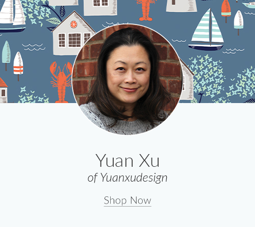 February Designer Spotlight: Meet Yuan Xu of yuanxudesign | Spoonflower Blog