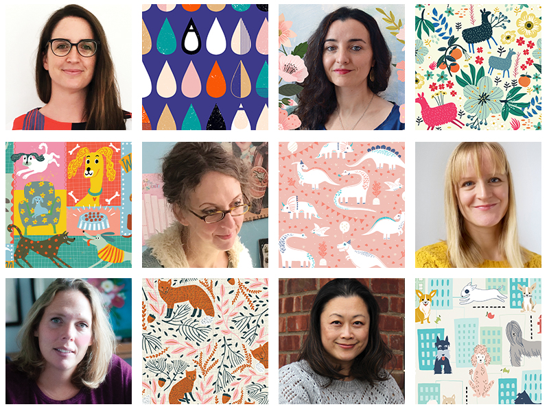 Spoonflower Spotlight: 6 Designers To Keep an Eye on This Month