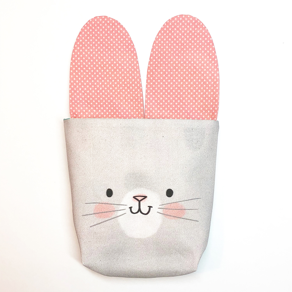 How to Make a Drawstring Bunny Bag for Easter Treats | Spoonflower Blog
