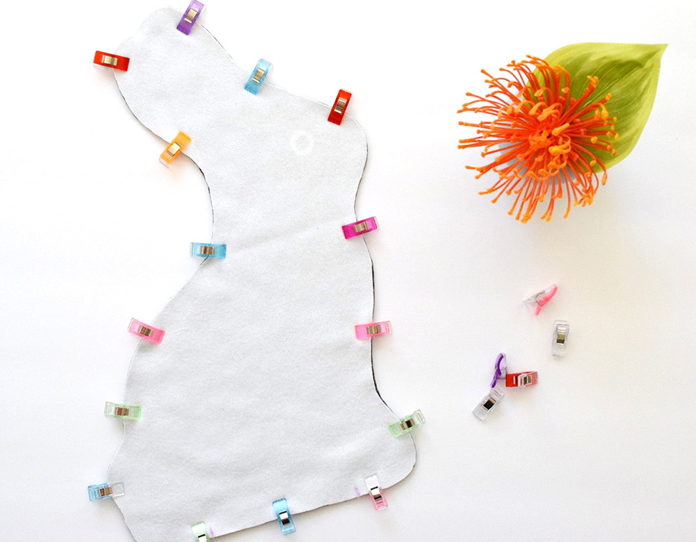 Make This DIY Easter Chocolate Bunny Plushie for Under $20 | Spoonflower Blog
