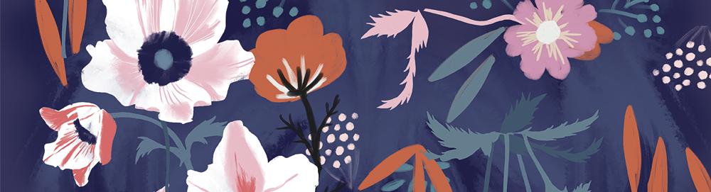 February Designer Spotlight: Meet Uta Krogmann of miraparadies | Spoonflower Blog