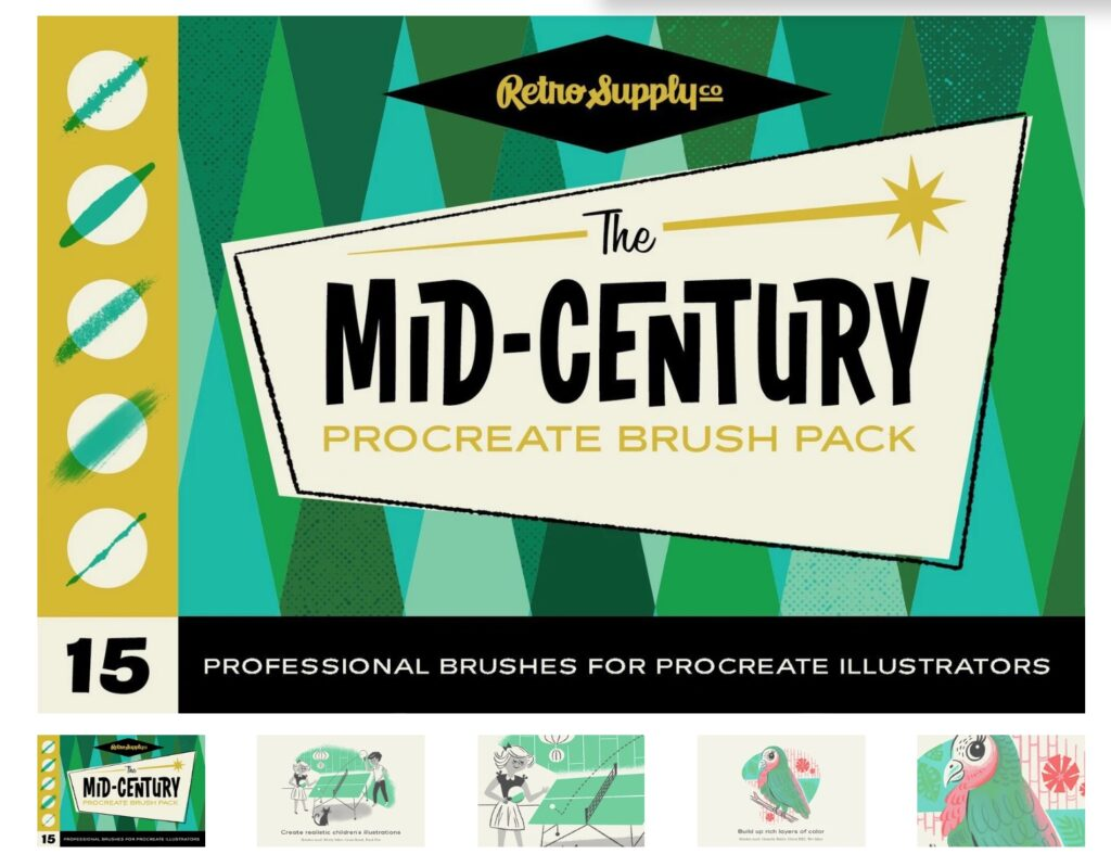Give Your Artwork a Retro Style with These 6 Tips | Spoonflower Blog