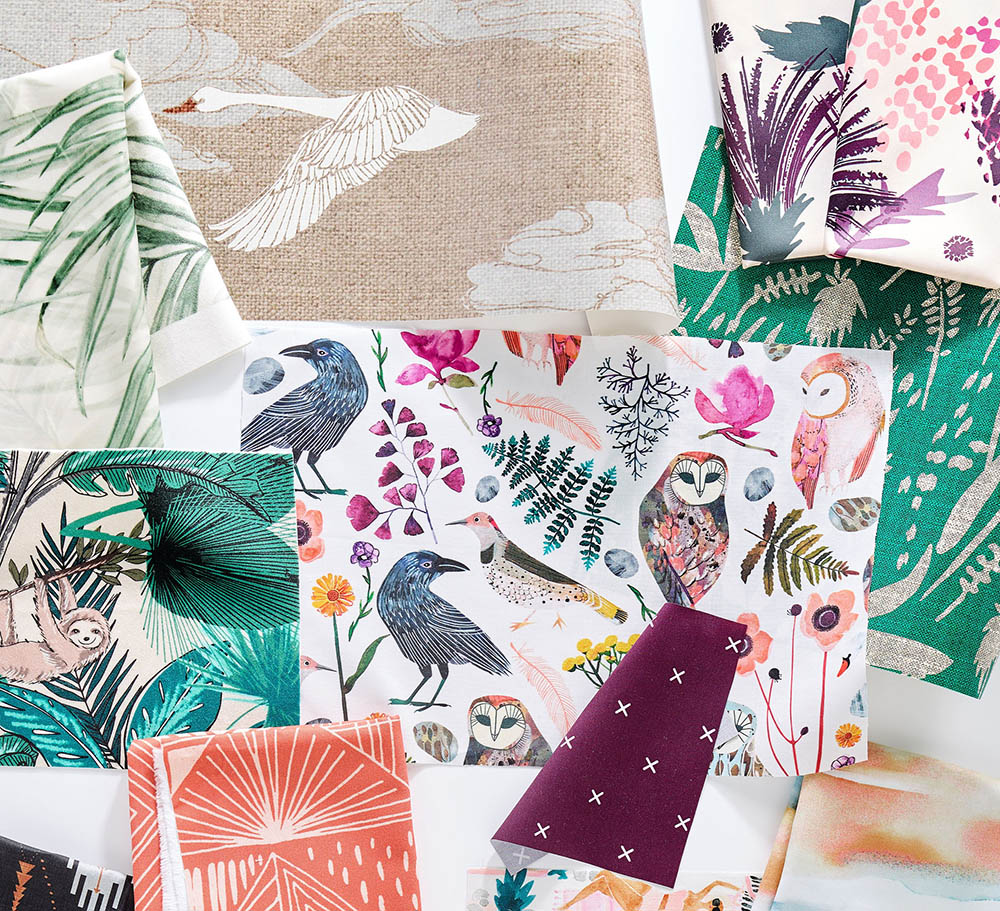 4 Color Palettes Inspired by Nature To Refresh Your Rooms | Spoonflower Blog