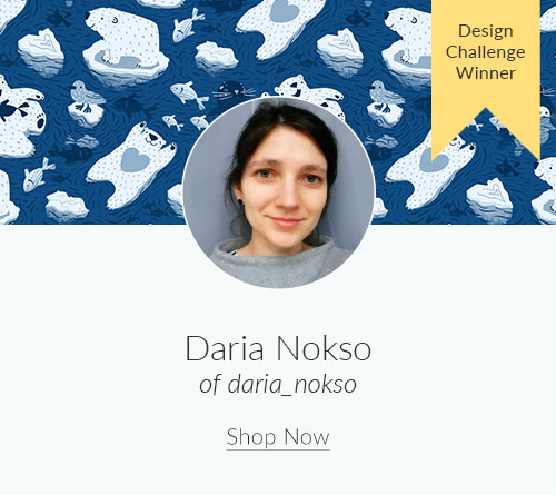 March Designer Spotlight: Meet Daria of daria_nokso | Spoonflower Blog