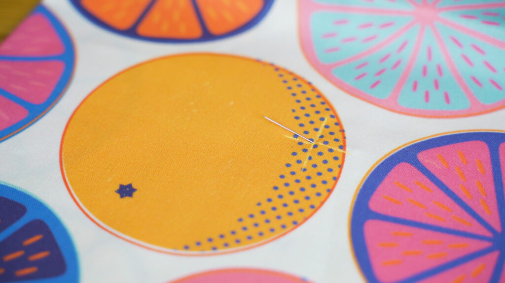 Mark any notches from the pattern onto the fabric. | Spoonflower Blog