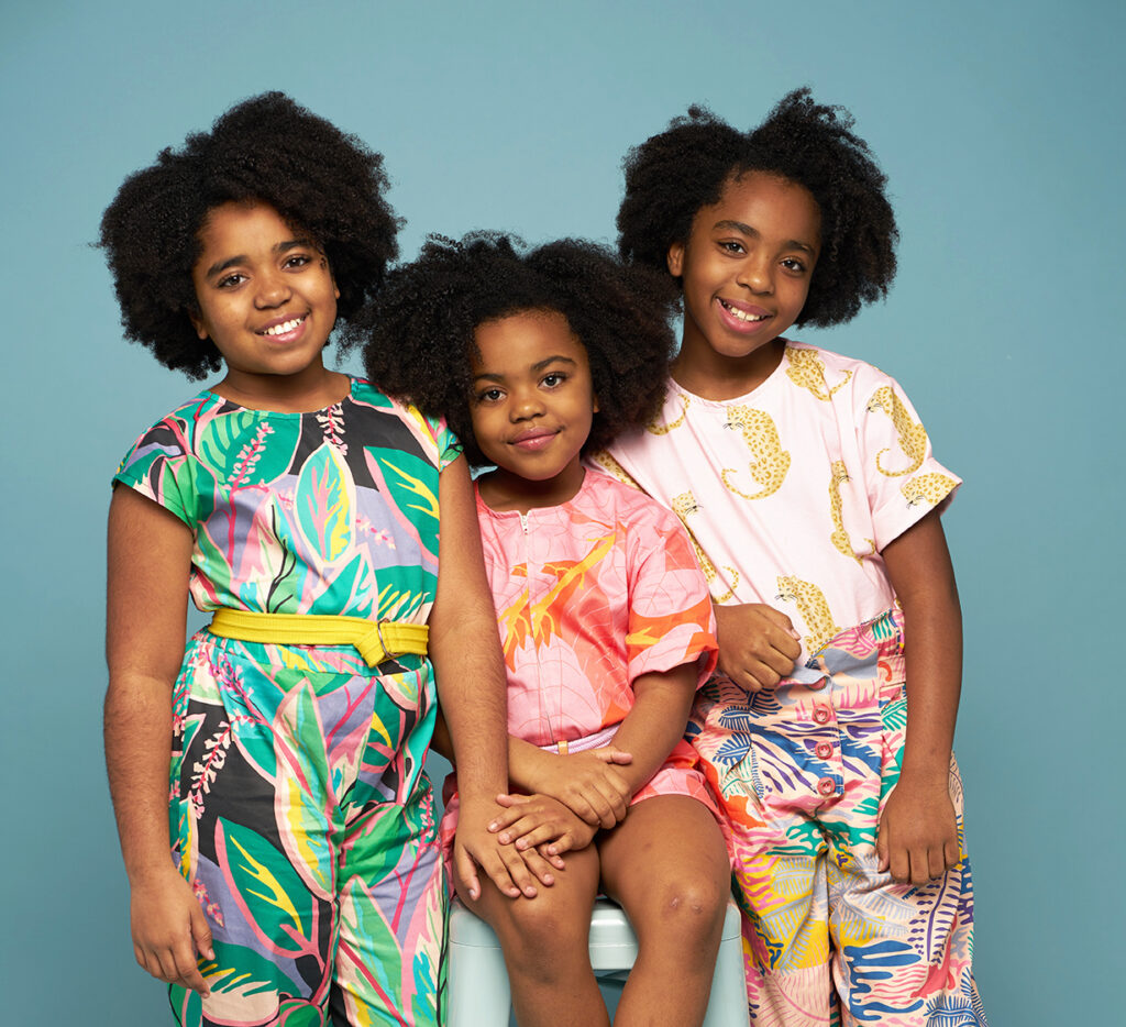 How I Learned to Creatively Collaborate with My Daughters | Spoonflower Blog