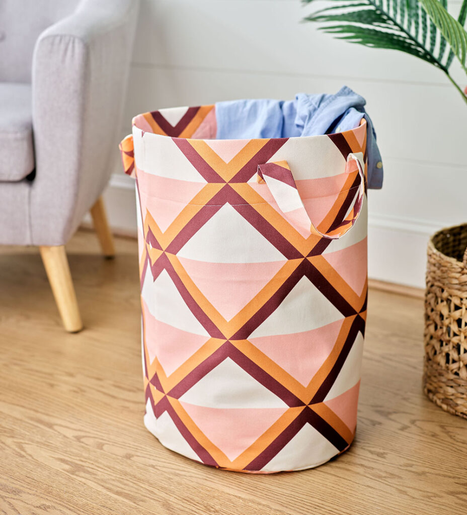 Liven Up Laundry Day with a DIY Laundry Bag | Spoonflower Blog