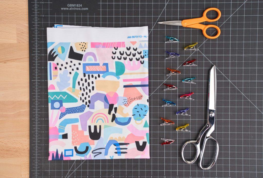 Materialien Haarband mit Schleife nähen