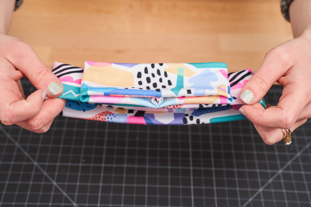 Turn out the headband loops | Spoonflower Blog