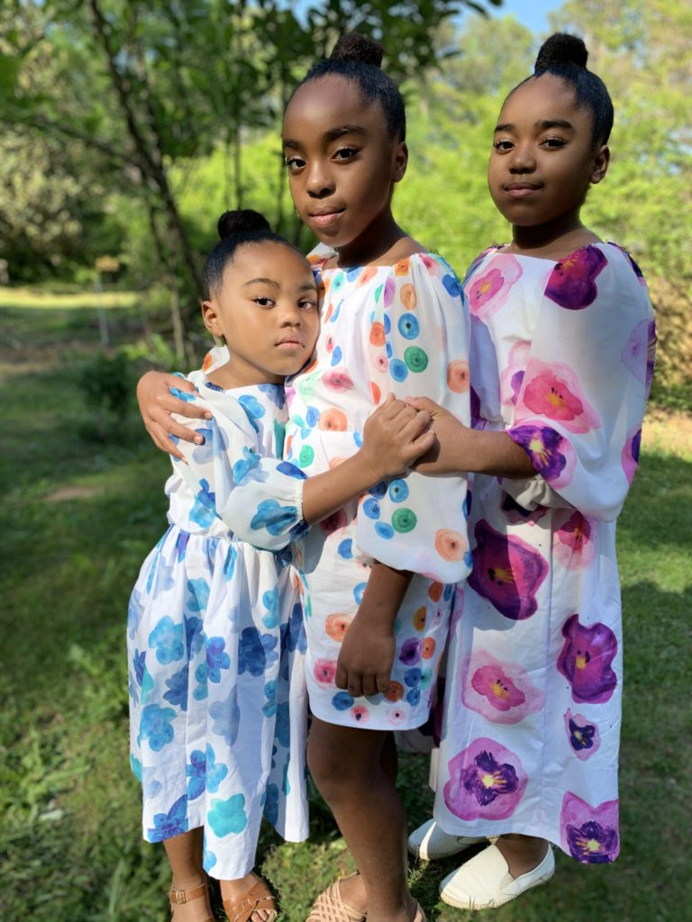 How I Creatively Collaborate with My Daughters | Spoonflower Blog