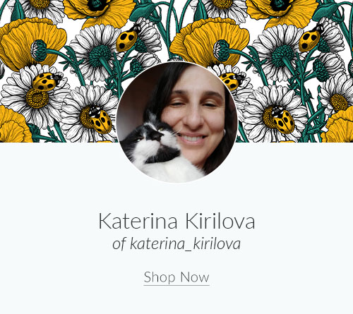 April Artist Spotlight: Meet Katerina Kirilova of katerina_kirilova | Spoonflower Blog