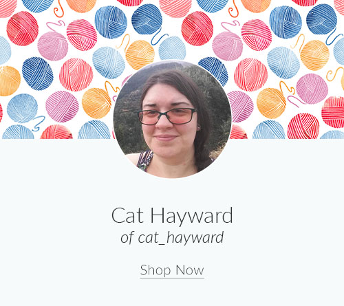 April Artist Spotlight: Meet Cat Hayward of cat_hayward | Spoonflower Blog