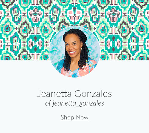 April Artist Spotlight: Meet Jeanetta Gonzales of jeanetta_gonzales | Spoonflower Blog