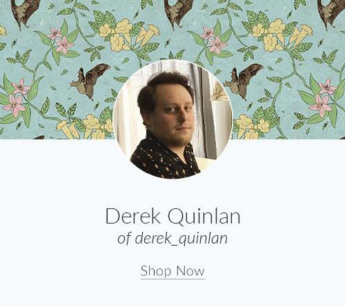 April Artist Spotlight: Meet Derek Quinlan of derek_quinlan | Spoonflower Blog