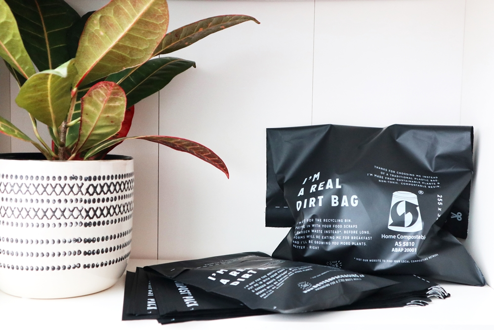Freon Collective uses compostable mailers to ship products | Spoonflower Blog