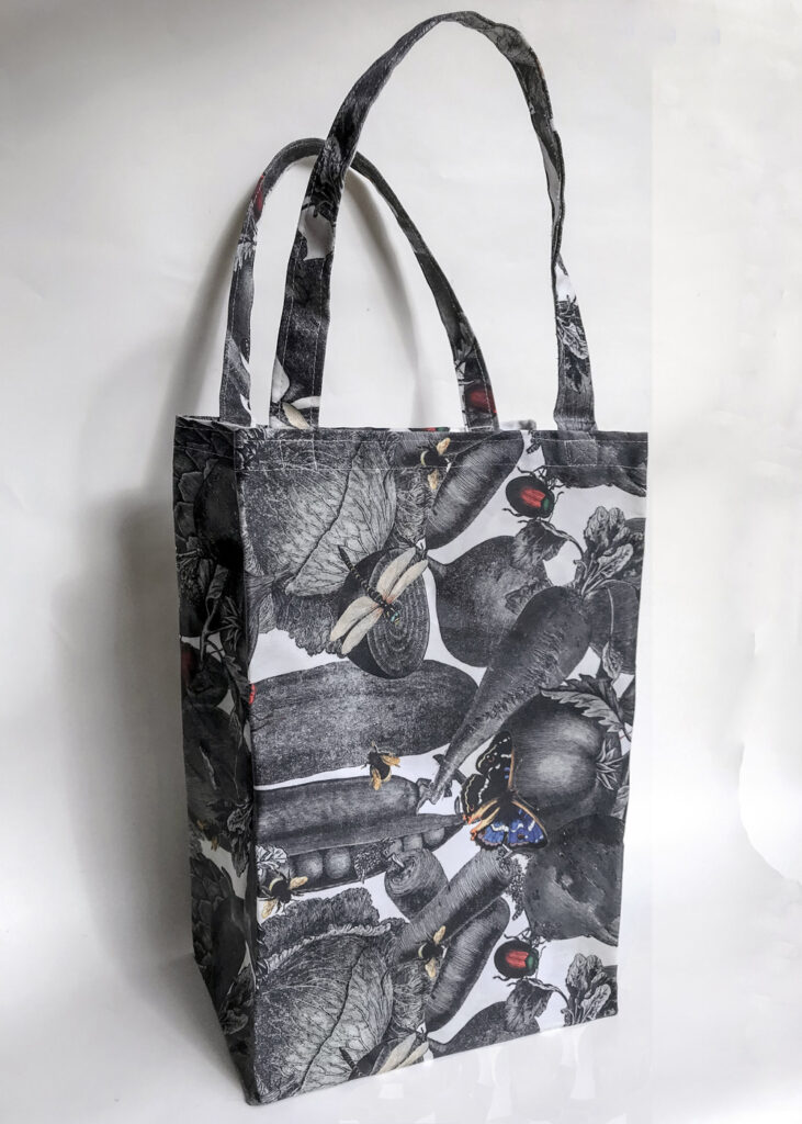 Bag Cabas in Wax