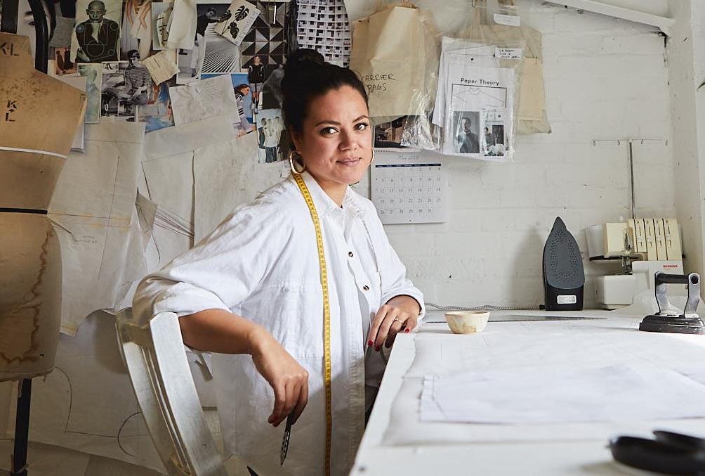 Me Made May Spotlight: Tara Viggo of Paper Theory Patterns | Spoonflower Blog