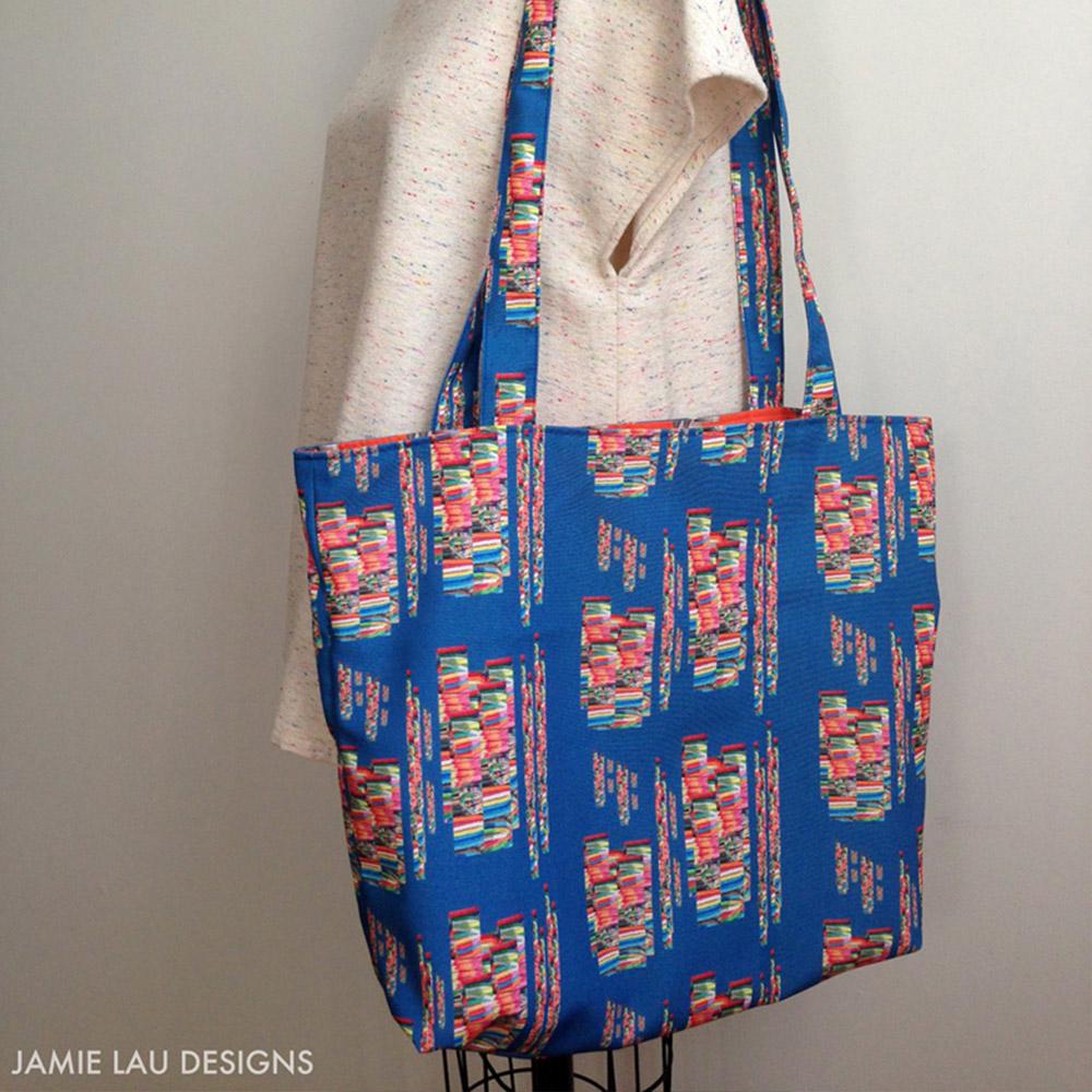 Reversible Tote Bag | Spoonflower Blog