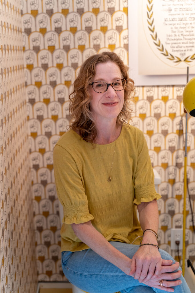 Ellen Steinberg, curator of The Sid Show | Spoonflower Blog