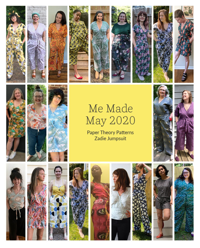 10 Ways to Customize the Zadie Jumpsuit for Me Made May | The Spoonflower Blog