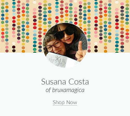 May Artist Spotlight: Meet Susana Costa of bruxamagica | Spoonflower Blog