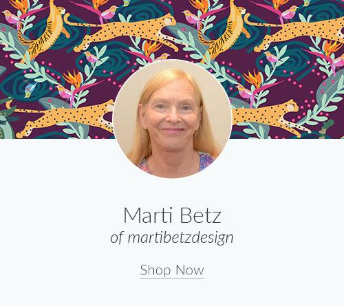 May Artist Spotlight: Meet Marti Betz of martibetzdesign | Spoonflower Blog